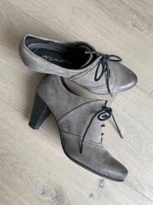 Graue Ankle Boots von Tamaris