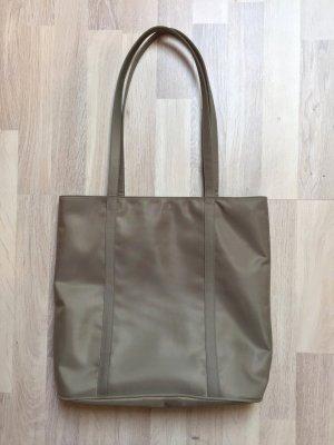 Graue Basic Stoff Tasche, Tragetasche Schultertasche