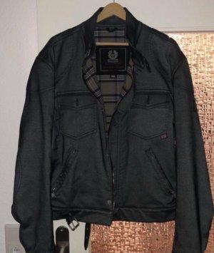 Graue Belstaff Jacke in leichter Jeans Optik