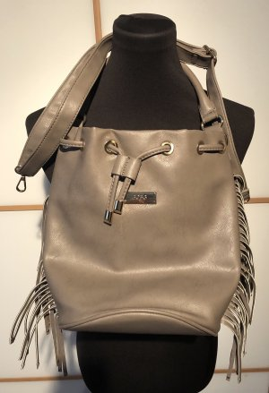 BCBG Pouch Bag light grey-gold-colored