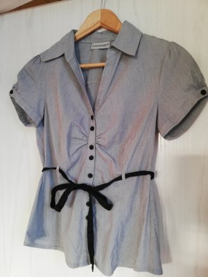 Graue Bluse von Clockhouse
