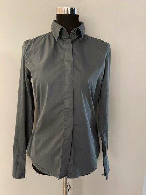 Graue Bluse von Q1, Gr. M