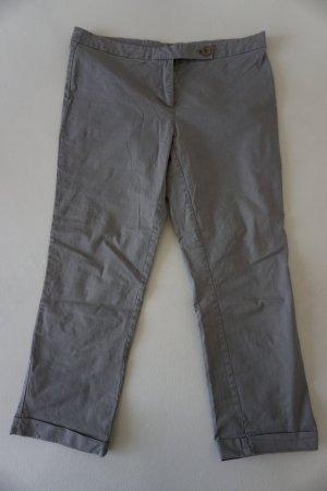 United Colors of Benetton Pantalon capri gris-gris clair