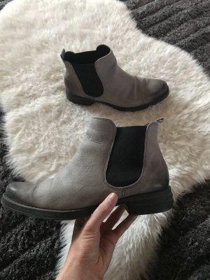 Chelsea Boots grey-dark grey