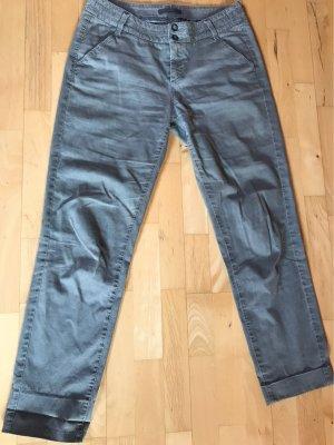 MAC Jeans Chinosy szary