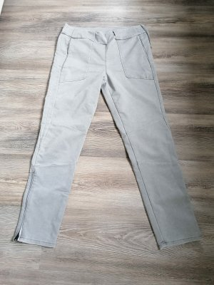 Dawn Chinos silver-colored-light grey cotton
