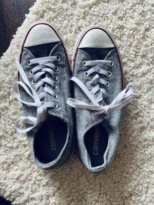 Graue Converse Sneakers Größe 37,5