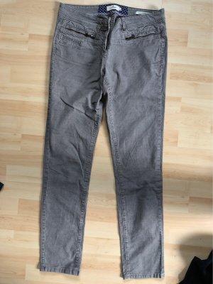 Tom Tailor Corduroy broek grijs