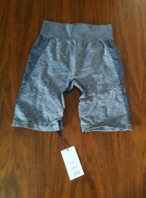 GYMSHARK Pantalón corto deportivo gris-gris pizarra