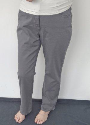 Basler High Waist Jeans grey cotton