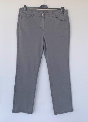 Basler Jeans a vita alta grigio Cotone