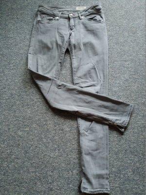 graue Damen-Jeanshose - Super Sqin - 29x32 von H&M
