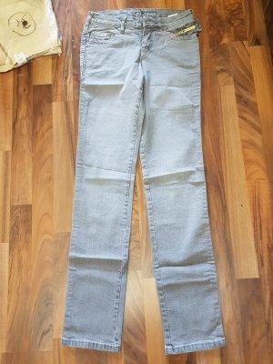 graue Denim Jeans NEU mit Etikett Gr. 32 von Flashlights