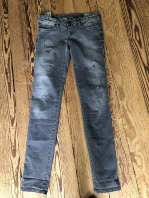 Graue Diesel Jeans