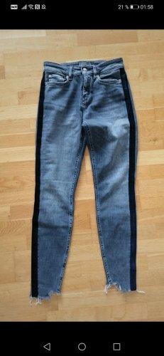 Drykorn Drainpipe Trousers grey