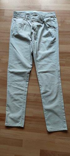 Esprit Jeansy z prostymi nogawkami jasnoszary Bawełna