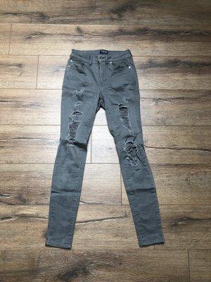 Graue Fashionnova Jeans