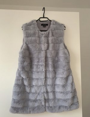 Fake Fur Jacket grey
