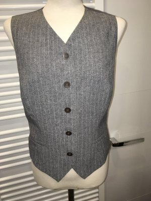 Gilet de costume gris clair-gris