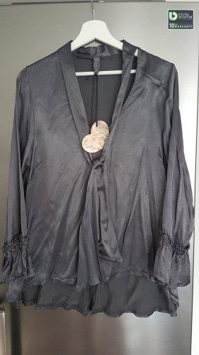 Graue glänzende Bluse,von ESViViD,NEU!