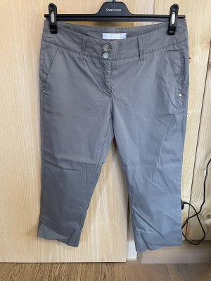 brax golf 3/4 Length Trousers dark grey-grey