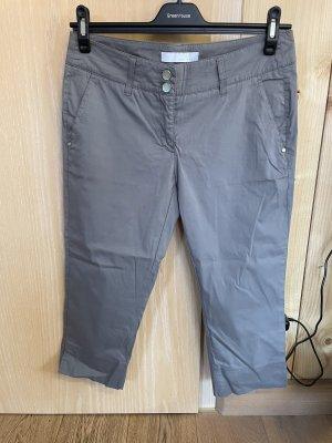 brax golf Pantalon 3/4 gris foncé-gris