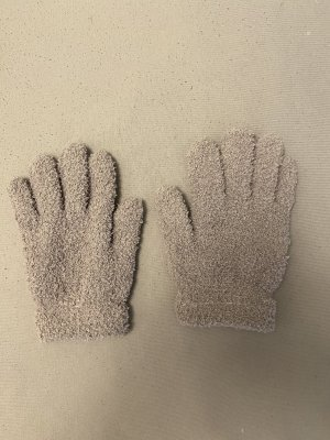 Knitted Gloves light grey