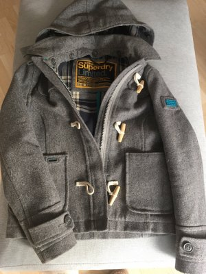 Superdry Pea Jacket grey