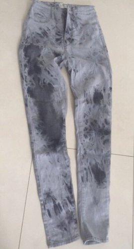 Taily Weijl Hoge taille broek zilver