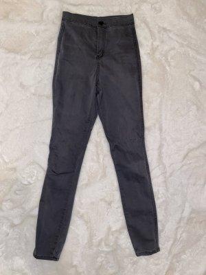 Graue highwaist Jeans
