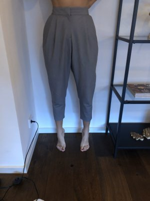Asos Pantalón de pinza gris