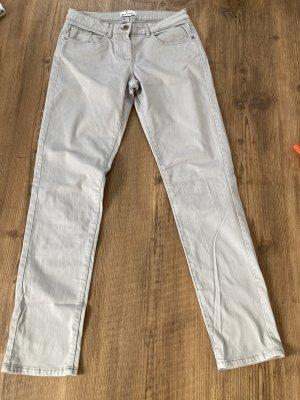 Pantalone cinque tasche grigio chiaro