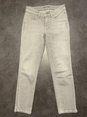 Cambio Jeansy z prostymi nogawkami jasnoszary-szary