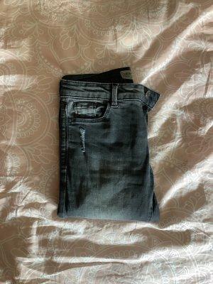 Clockhouse Low-Rise Trousers grey-dark grey