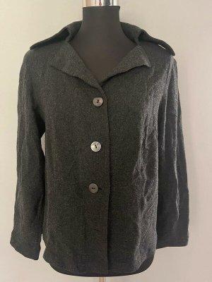 FOX'S Wool Blazer anthracite-taupe viscose