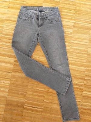 Esmara Jeansy z prostymi nogawkami szary