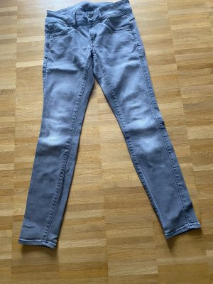 Raw Denim Life Jeans a carota grigio scuro