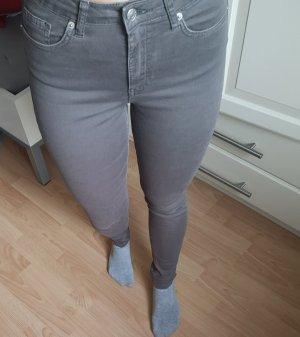 Nakd Jeans a sigaretta grigio-marrone-grigio