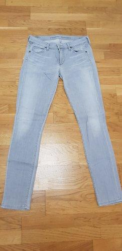 Citizens of Humanity Jeans a gamba dritta grigio chiaro