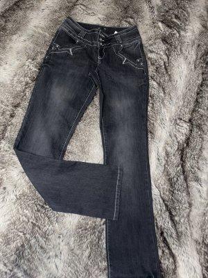 Bodyflirt Jeans vita bassa multicolore