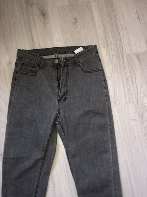 Graue Jeans Hose