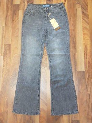 graue Jeans mit Details hinten NEU mit Etikett Gr. 34