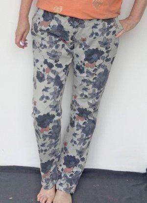Cecil Jeans a vita alta grigio-grigio chiaro Cotone