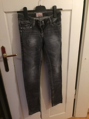 Graue Jeans, S. Oliver