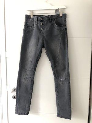 Graue Jeans von Cartoon Gr. M