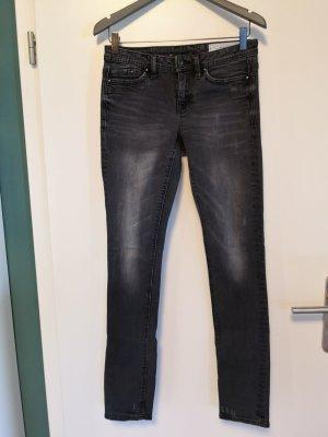 Edc Esprit Slim jeans donkergrijs