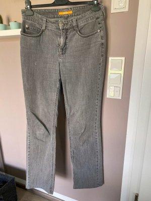 Graue Jeans von MAC, Gr. 40