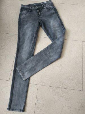 Graue Jeans von Multiblu, Gr. 36