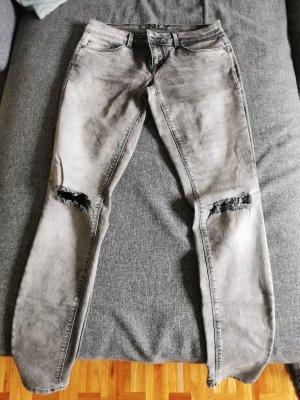 Graue Jeans von ONLY Gr. 30/32