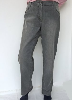 Via Appia Pantalone cinque tasche grigio Cotone